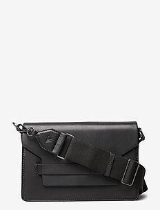 Arabella Crossbody Bag, Antiqu - shoulder bags - black w/black