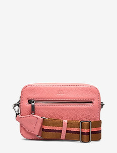 Elea Crossbody Bag, Grain - CORAL W/CHSTN+BURG+CORL