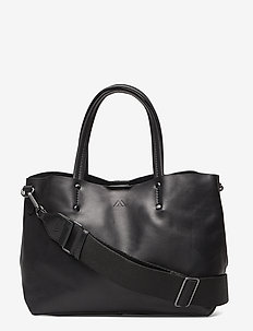 Ruth Small Shopper, Antique - BLACK W/BLACK