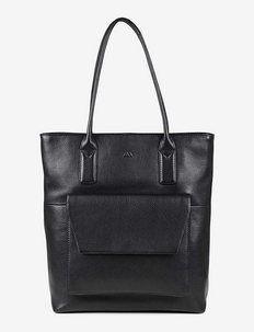 Aubrey Bag, Grain - BLACK