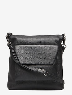 Joanna Crossbody Bag, Grain - BLACK