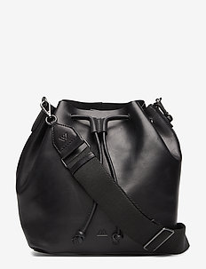 Kendall Bucket Bag, Antique - BLACK W/BLACK