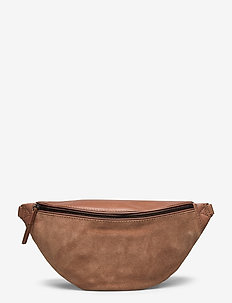 Elinor Bum Bag, Antique Mix - belt bags - caramel w/black