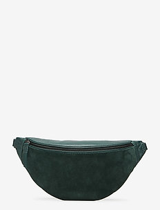 Elinor Bum Bag, Suede Mix - DG W/BL+GOLD+DG+SILVER