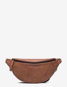 Izzy Bum Bag, Antique - belt bags - caramel w/black