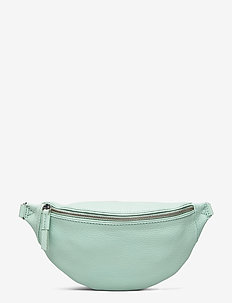 Izzy Bum Bag, Grain - saszetka nerka - mint w/black