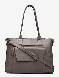 Malia Work Bag, Grain - torebki z uchwytem - stone grey
