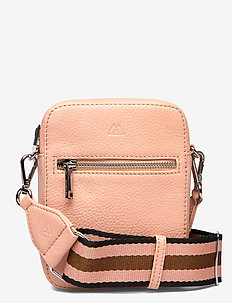 Mariana Crossbody Bag, Grain - na ramię - peach w/bl+peach+mocca