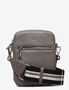 Mariana Crossbody Bag, Grain - na ramię - st grey w/bl+silv.+grey+gl