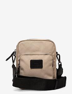 Bexley Crossbody Bag - tasker - beige w/black