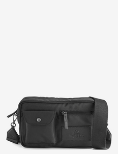 Darla Crossbody Bag, Recycled - tasker - black w/black