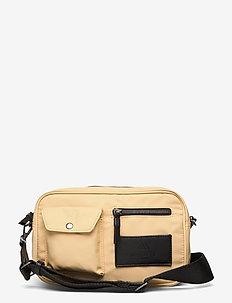 Darla Crossbody Bag, Recycled - tasker - sorbet w/black