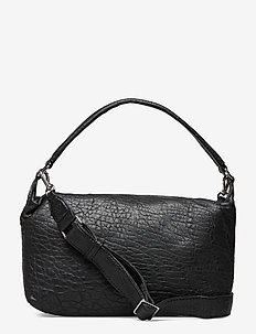 Inez Bag, NZ Bubbly - shoulder bags - black