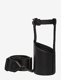 Kenza Bottle Holder, Grain - overige accessoires - black w/black