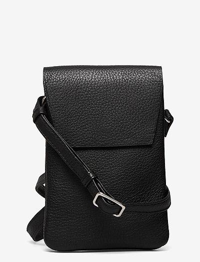 Mara Crossbody Bag, Grain - crossbody bags - black