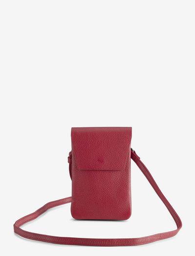 Mara Crossbody Bag, Grain - crossbody bags - shocking red