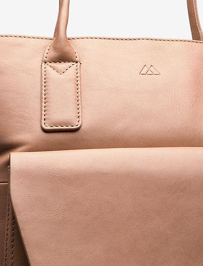 Markberg Aubrey Bag Antique- Top Handle Camel