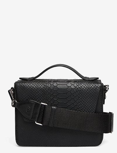 Kamaya Crossbody Bag - olkalaukut - black w/black