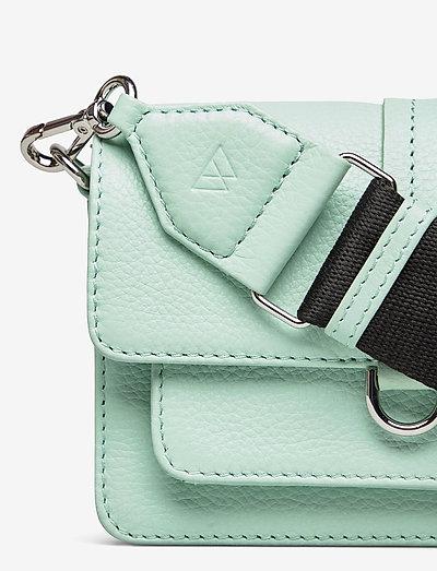 Markberg Milena Crossbody Bag Grain- Olkalaukut Mint W/black