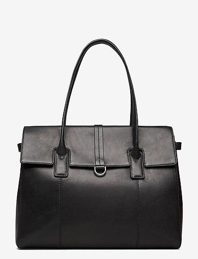 Aniella Work Bag - käsilaukut - black