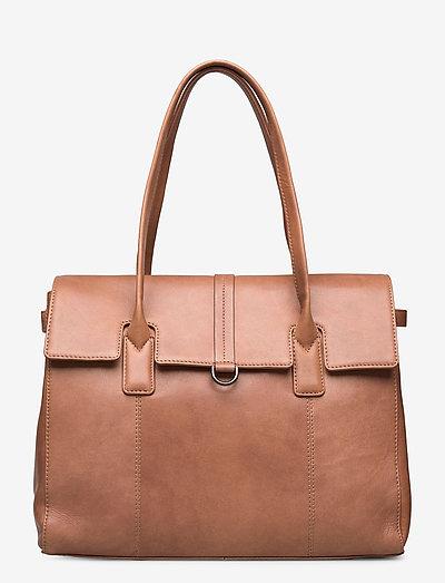 Aniella Work Bag - käsilaukut - caramel