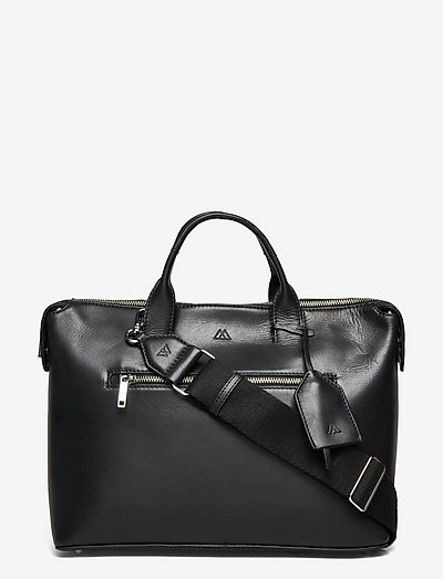 Abrielle Work Bag, Antique - computer bags - black w/black