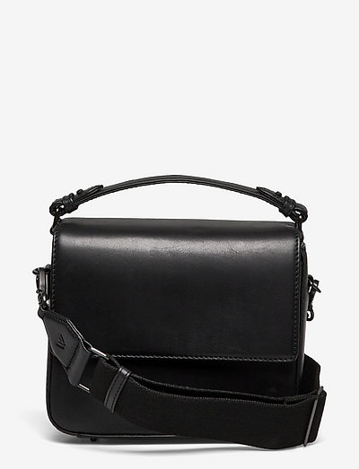Adora Large Crossbody Bag, Ant - crossbody bags - black w/black