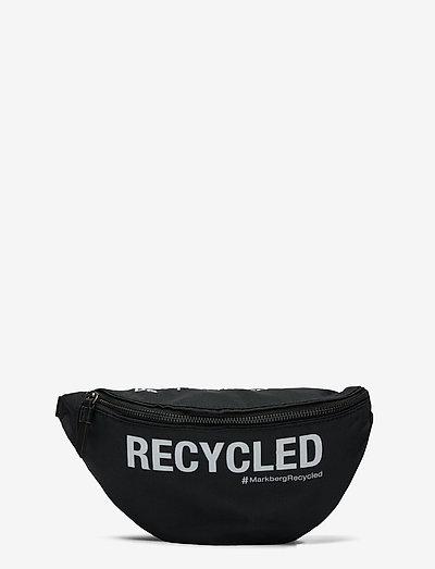 Thyra bum bag - belt bags - black w/white print