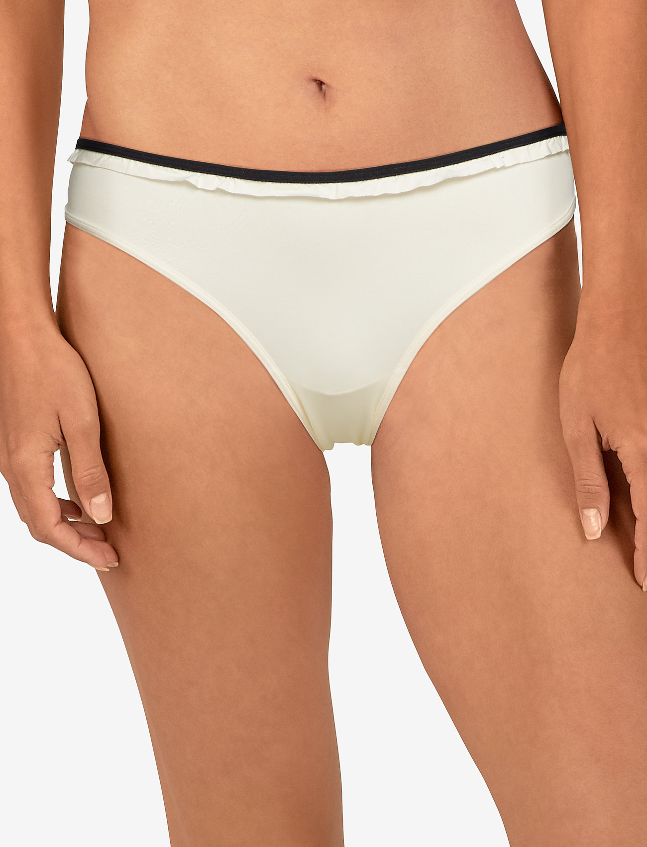 Marlies Dekkers MD SPACE ODESSEY BRIEF 5 IVORY-BLACK - IVORY/BLACK