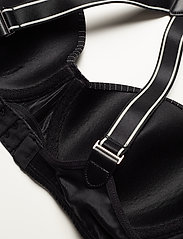 Marlies Dekkers - MD GLORIA PINSTRIPE BALC. BRA BLACK - wired bra - black - 5