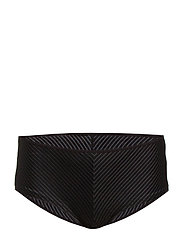 MD GLORIA PINSTRIPE BRAZ. SHORT 12 - BLACK