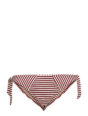 MD HOLI VINTAGE BRIEF TIE & BOW - RED ECRU