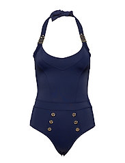 MD ROYAL NAVY UNPADDED BATHING SUIT - DARK BLUE