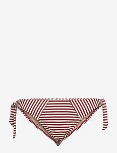 MD HOLI VINTAGE BRIEF TIE & BOW - bas de maillot de bain - red ecru