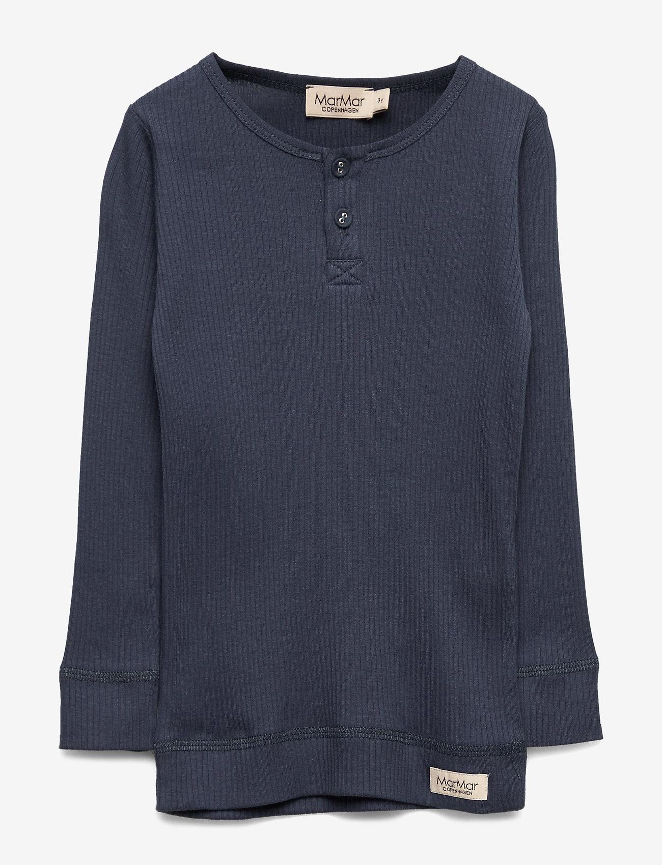 MarMar Cph - Tee LS - pitkähihaiset paidat - blue - 0