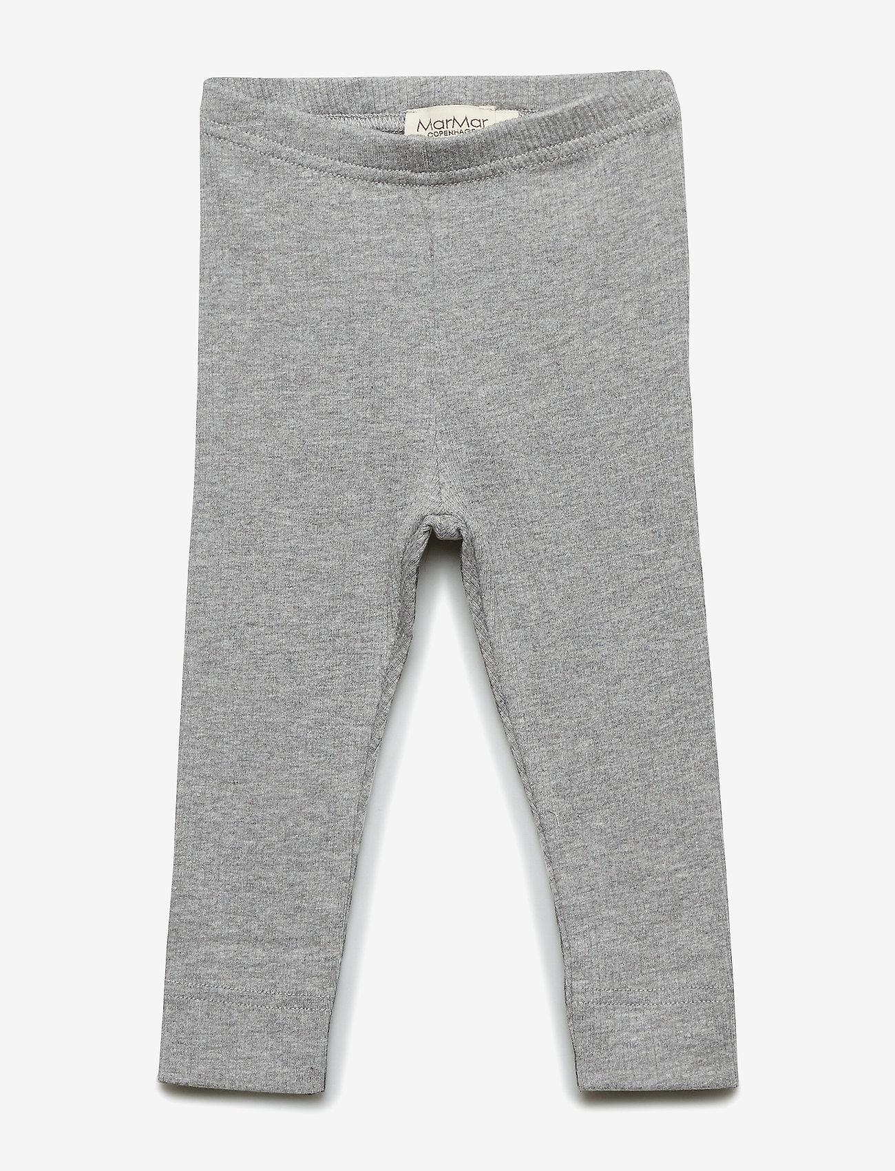 MarMar Cph - Leg - leggings - grey melange - 0