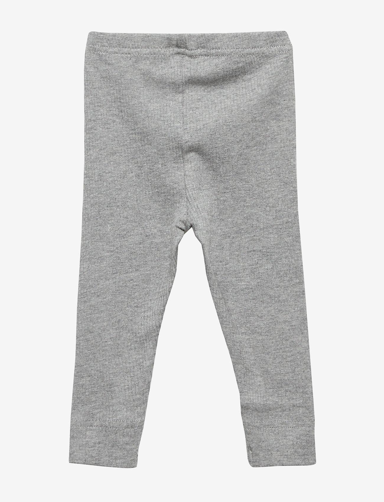 MarMar Cph - Leg - leggings - grey melange - 1