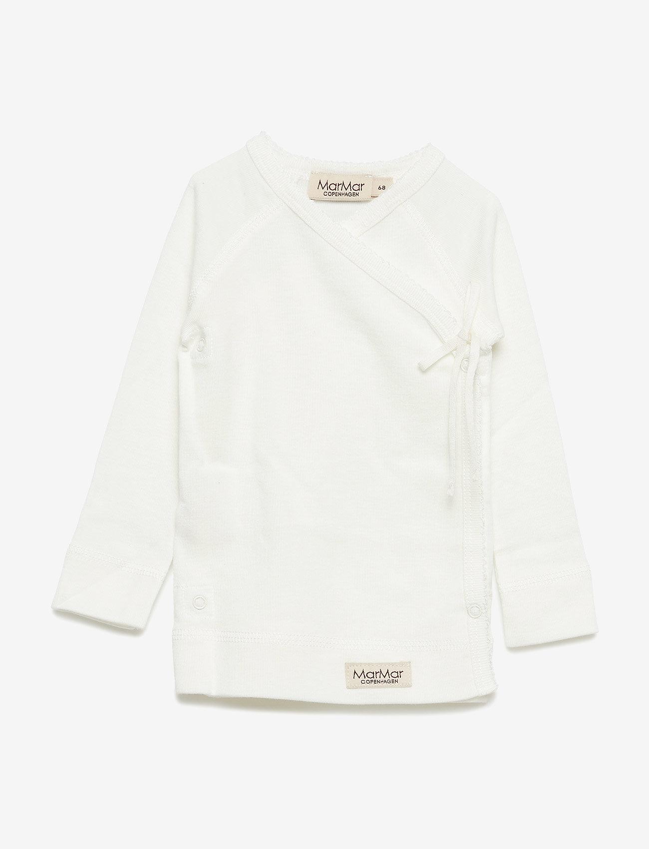 MarMar Cph - Tut Wrap LS - langærmede t-shirts - gentle white - 0