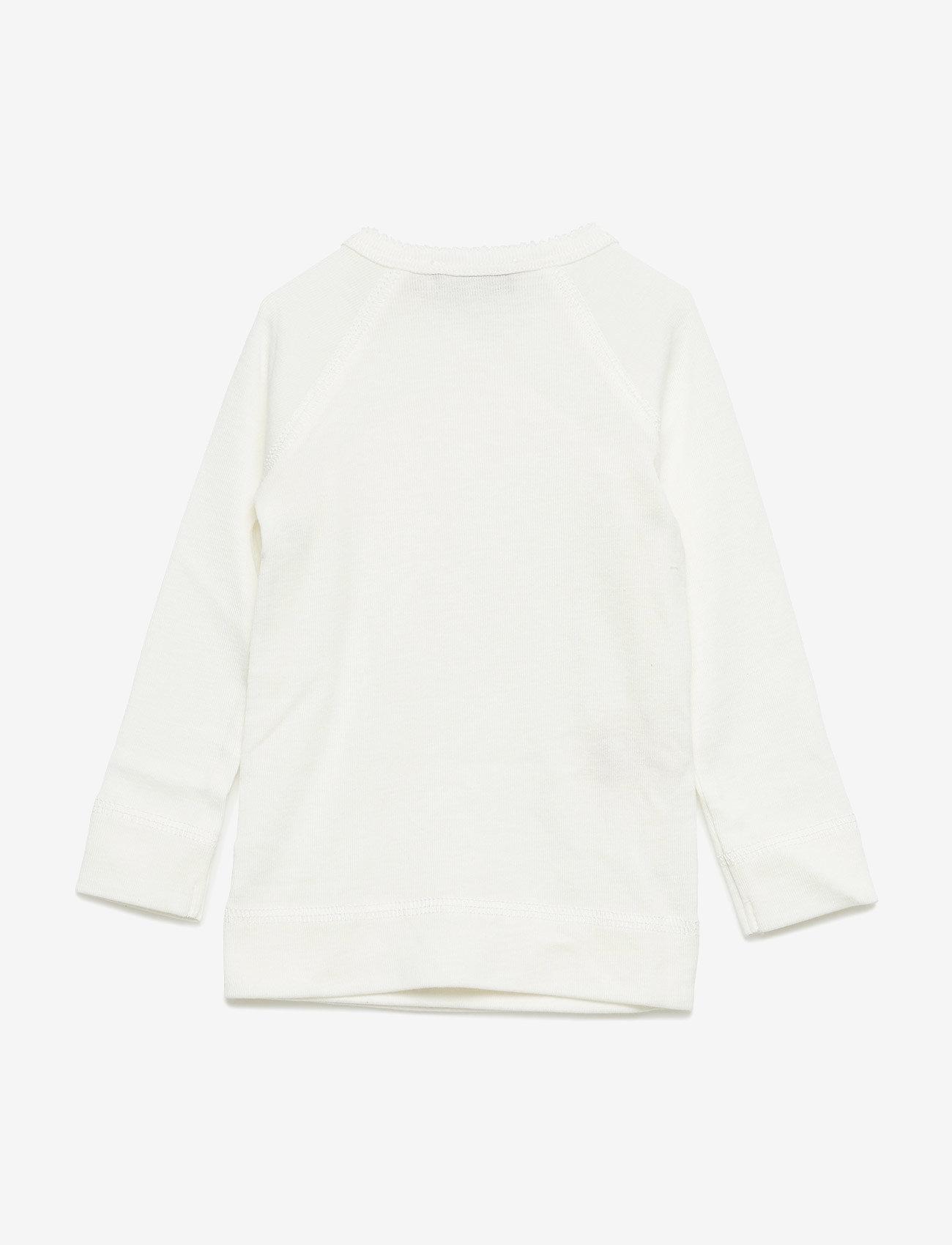 MarMar Cph - Tut Wrap LS - langærmede t-shirts - gentle white - 1