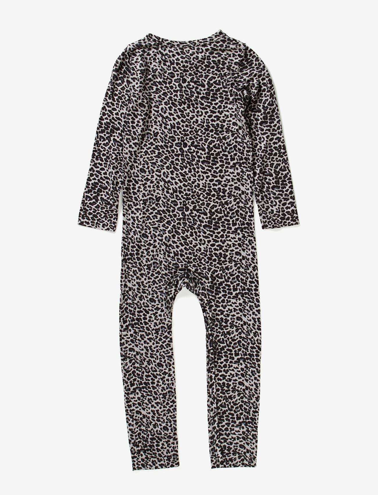 MarMar Cph - Leo Suit - met lange mouwen - grey leo