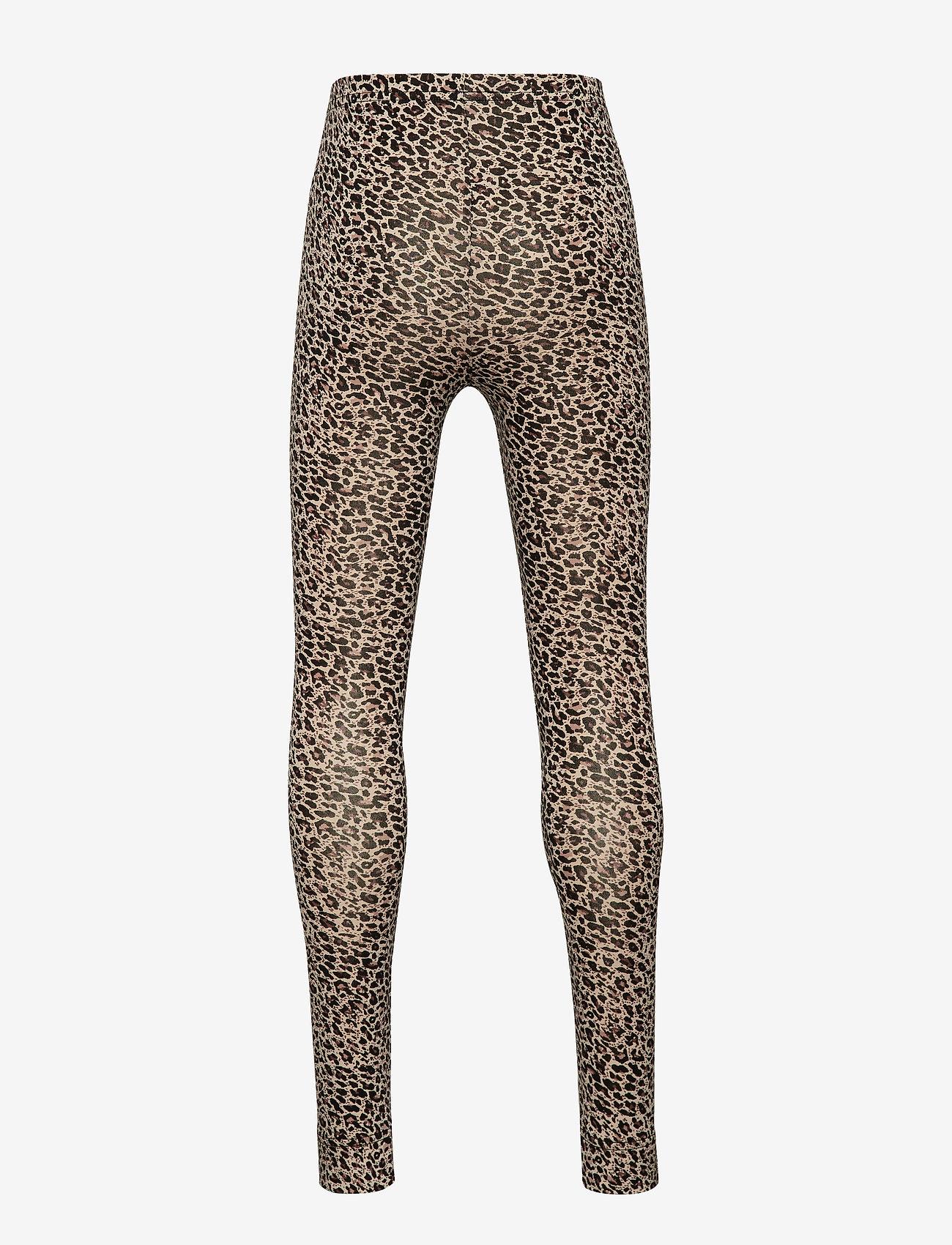 MarMar Cph - Leo leggings - leggings - brown leo