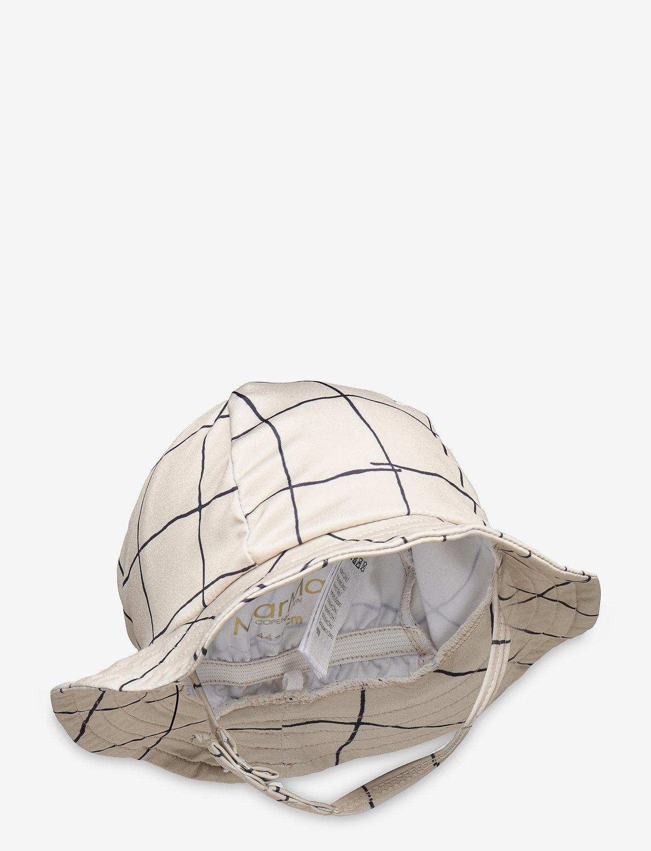 MarMar Cph - Alba Splash - kapelusz przeciwsłoneczny - pen check - 0