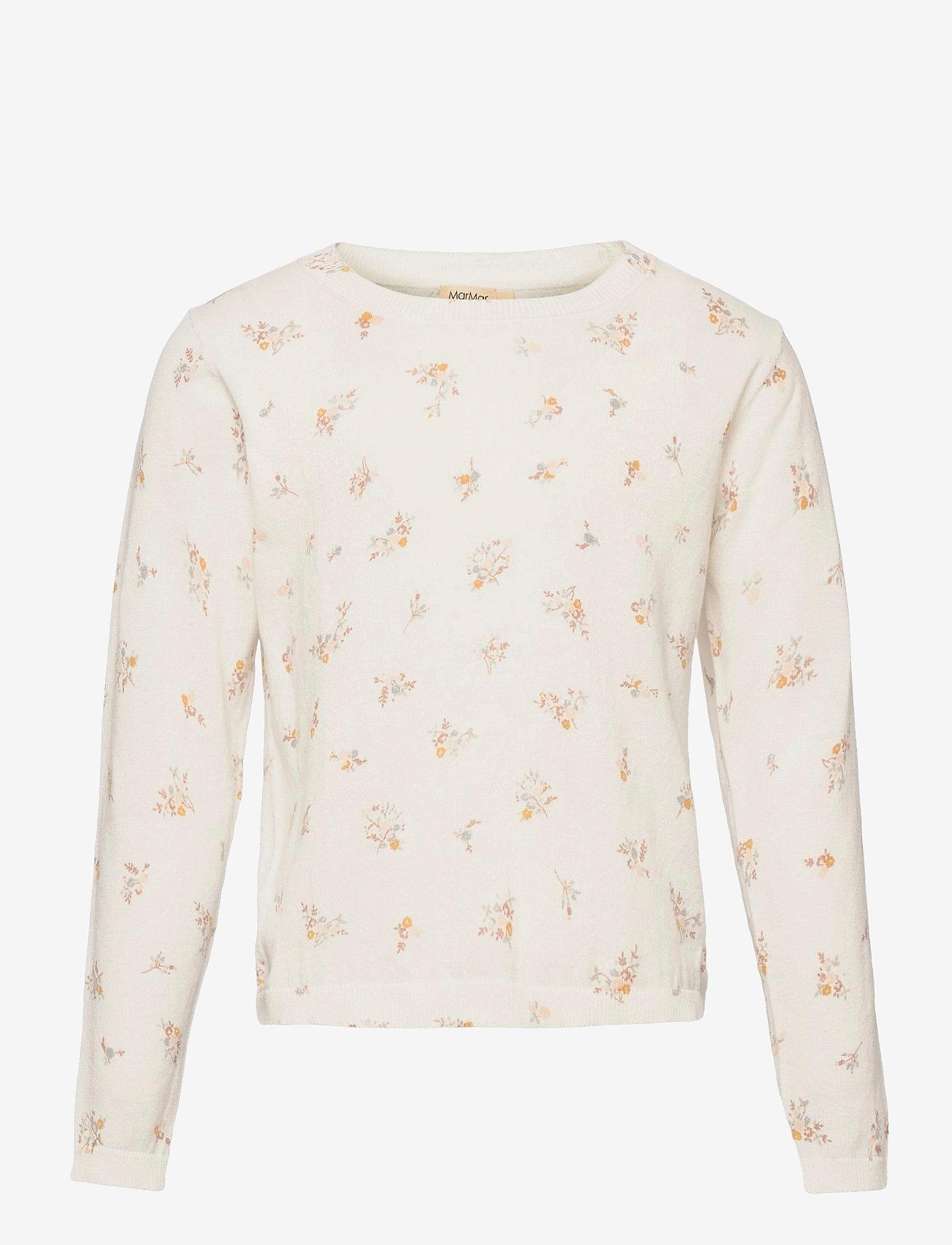 MarMar Cph - Tano - langærmede t-shirts - rose bouquet - 0
