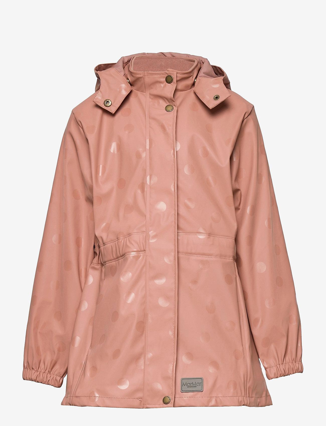 MarMar Cph - Rainwear Set Oceana - ensembles - rose brown dot - 1