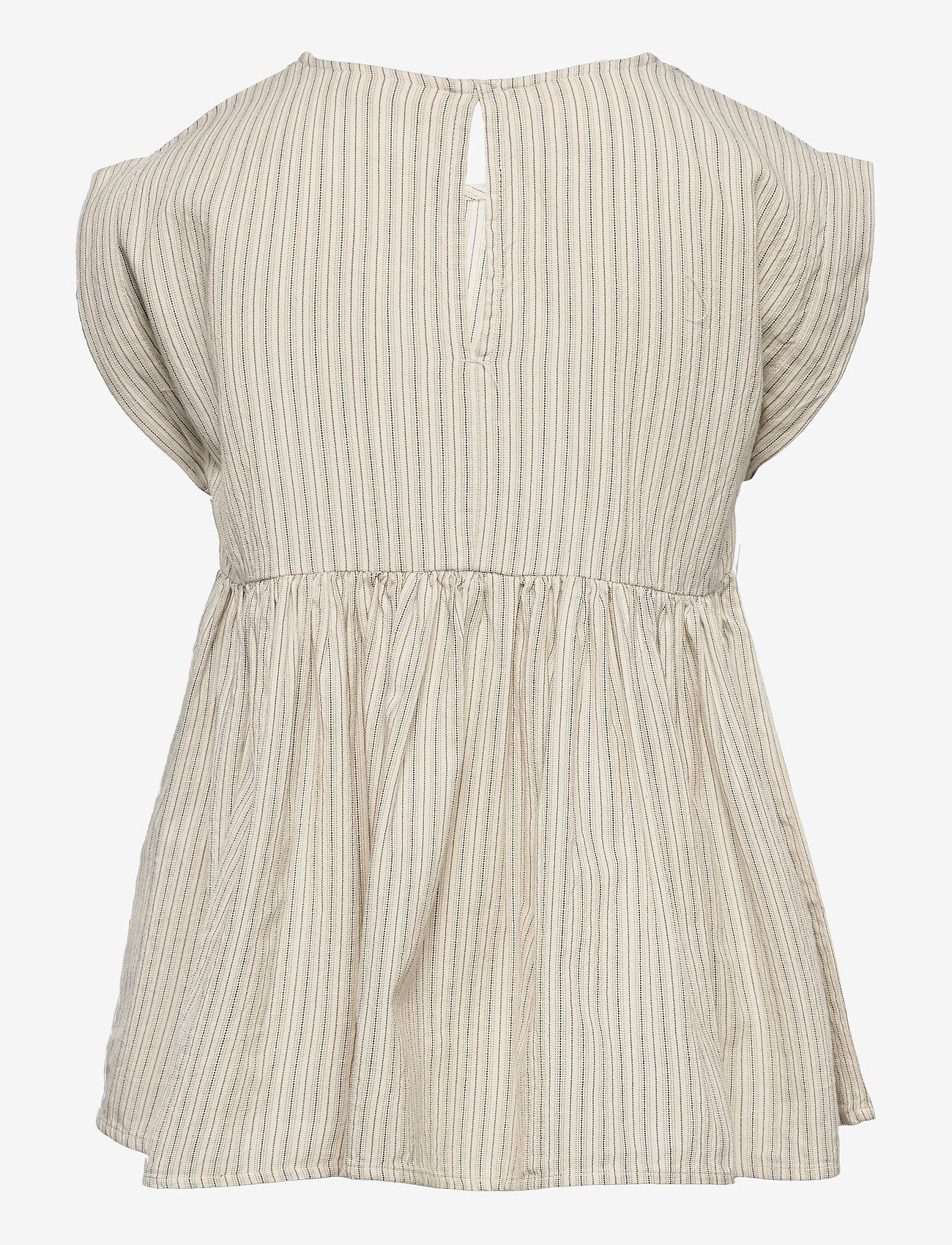 MarMar Cph - Tiora - kleider - white sage stripes - 1