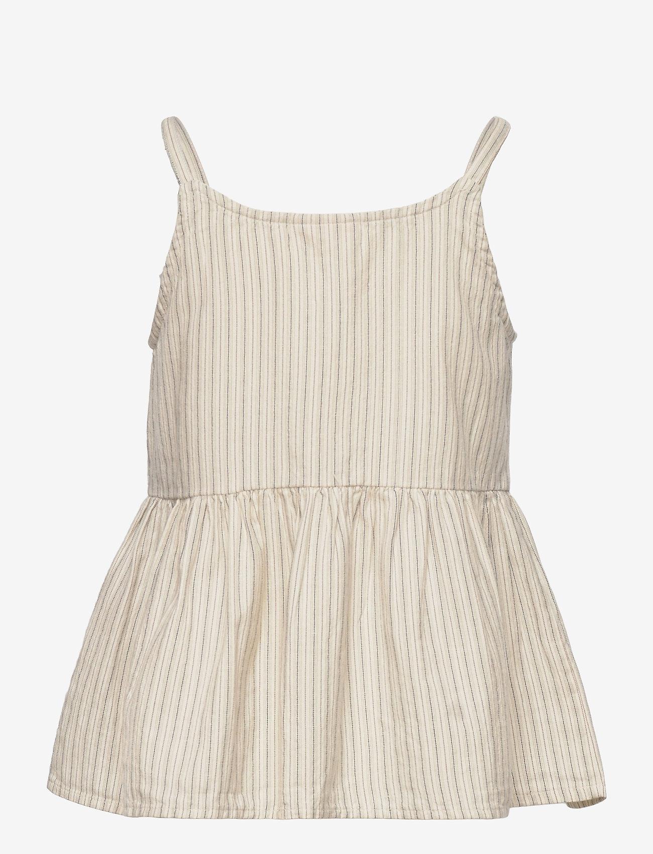 MarMar Cph - Tannia - kjoler - white sage stripes - 1