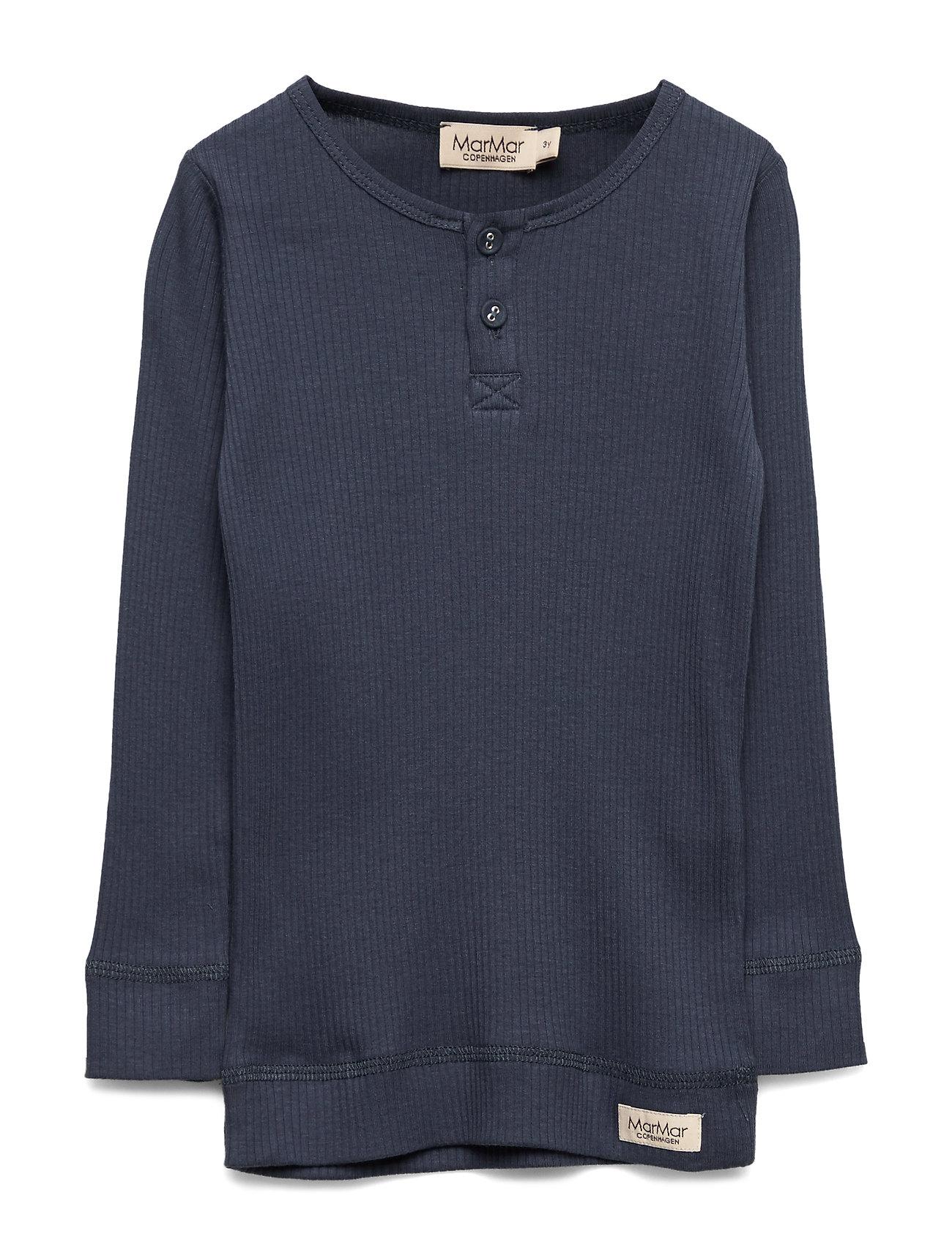 Image of Tee Ls Langærmet T-shirt Blå MarMar Cph (2382585511)
