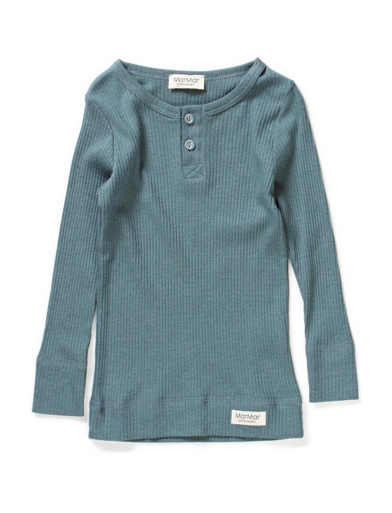 Image of Tee Ls Langærmet T-shirt Blå MarMar Cph (3452226739)
