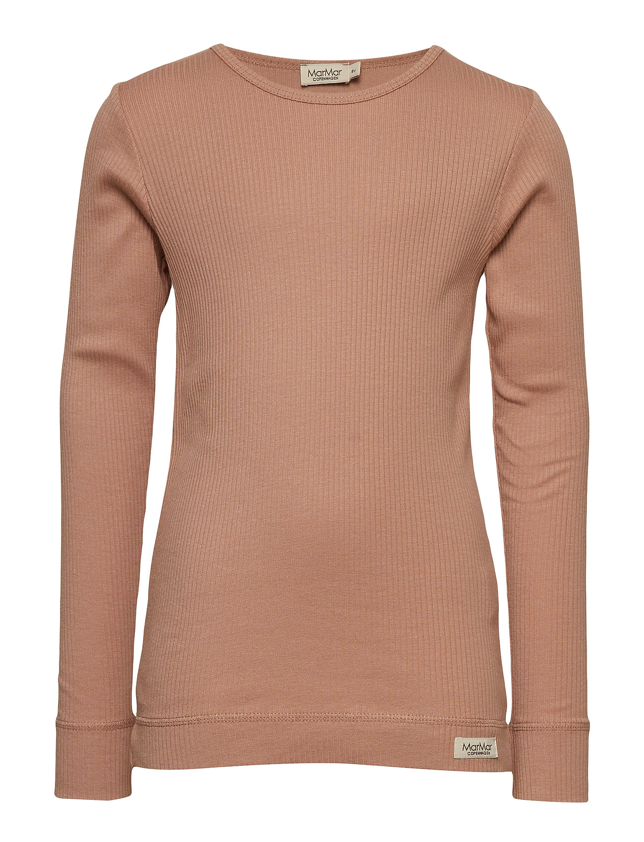 MarMar Cph Plain Tee LS - ROSE BROWN