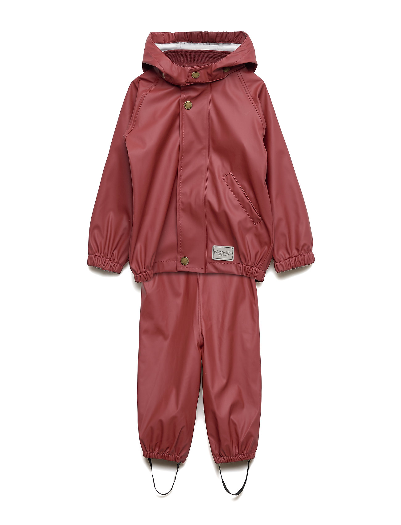 MarMar Cph Rainwear Set Baby - WINE